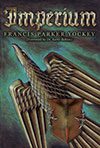 An eagle with a shield soaring upwards